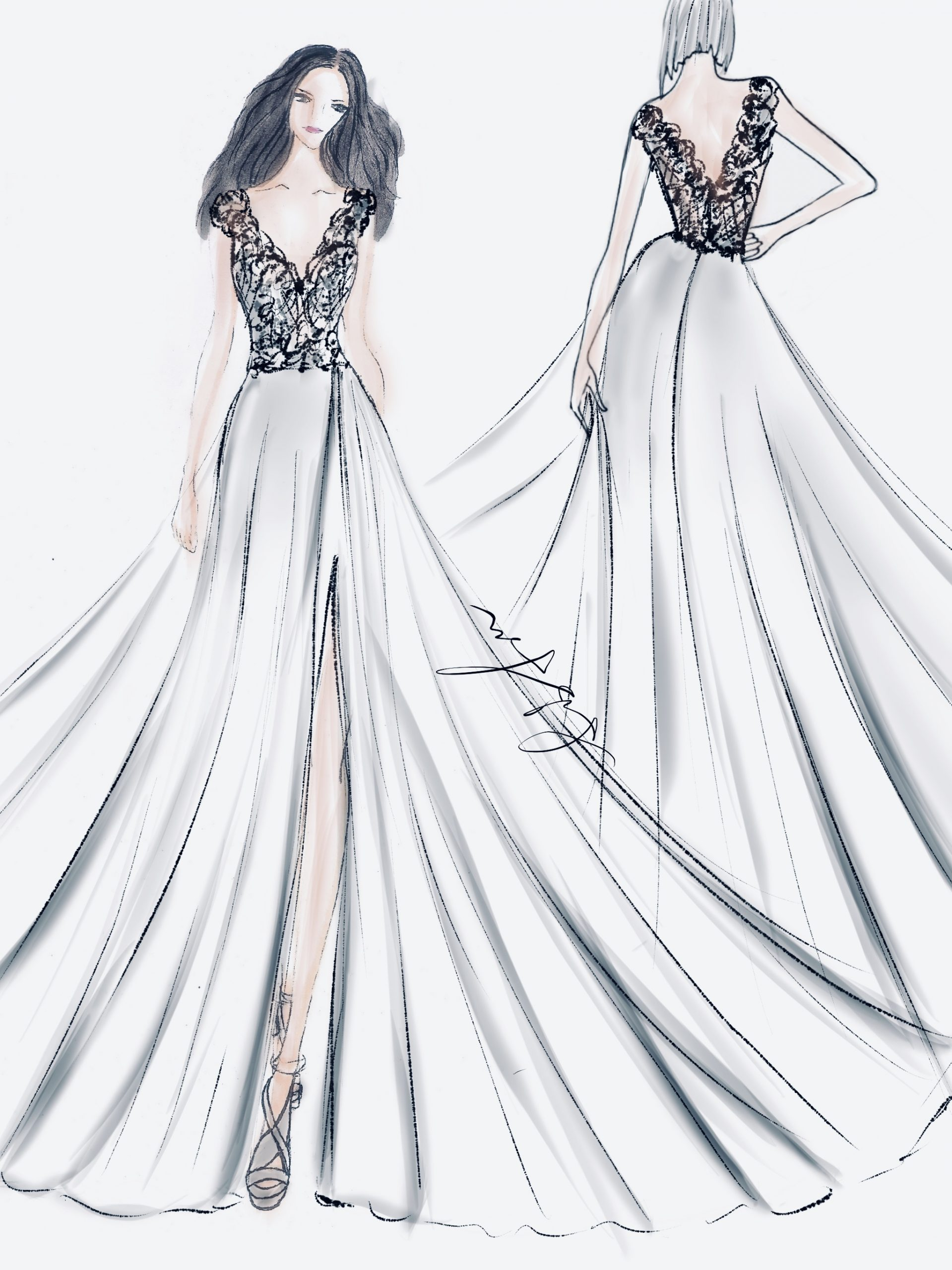 The sketch of the designers' choice of the month.